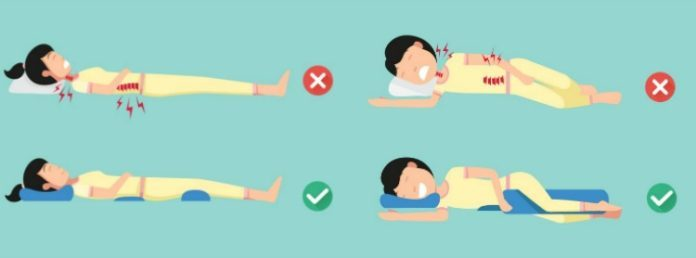 Proper Positions To Reduce Pain and Improve Poor Sleep