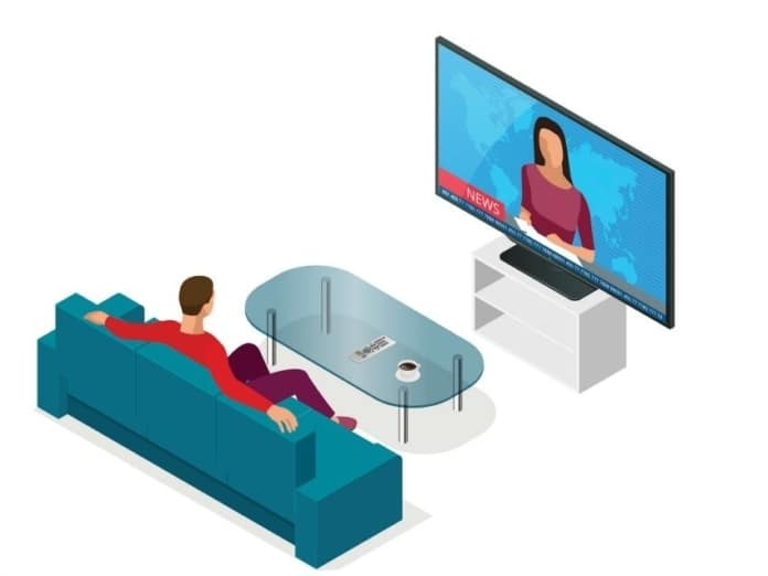 Proper Position of TV to Reduce Neck Pain