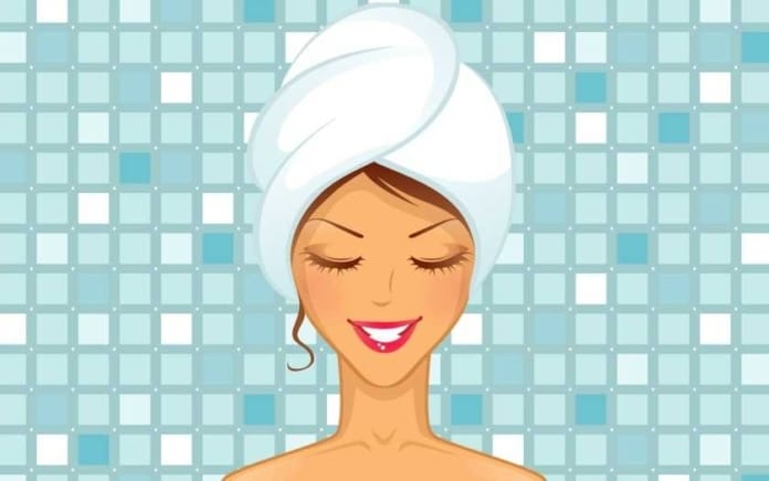 Use of Lightweight Hair Towel To Reduce Neck Pain